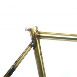 FG03 COPPER STEEL TRACK FRAME SET