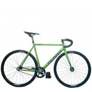 TSUNAMI SNM100 2021 COMPLETE BIKE Amry green