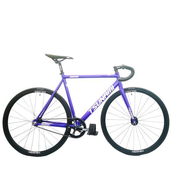 TSUNAMI SNM100 2021 COMPLETE BIKE Purple