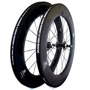 WEAPON CR88 Track Carbon fiber wheelset 88mm