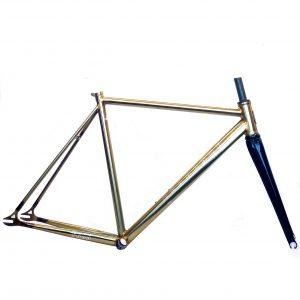TSUNAMI FG05 2021 Copper steel track frameset